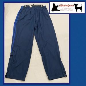 bcg track pants blue on blue